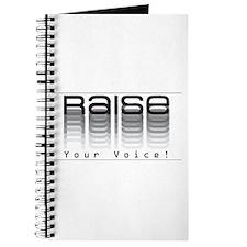 Raise your voice. Journal