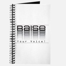 Raise your voice. Journal