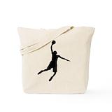 Basketball Regular Canvas Tote Bag