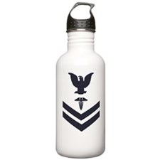 USCG-Rank-HS2-Crow-Sub Water Bottle