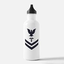 USCG-Rank-HS2-Crow-Sub Water Bottle