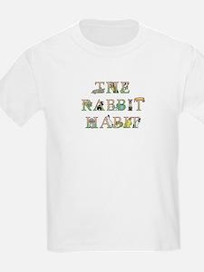 Rabbit Habit Kids T-Shirt Featuring Bobbi