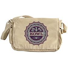 KOWL_2Purple Messenger Bag