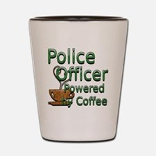 coffee police off Shot Glass