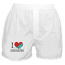 I Love Dinosaurs Boxer Shorts