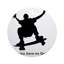 you have no quran green Round Ornament