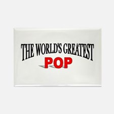 """""""The World's Greatest Pop"""" Rectangle Magnet"""
