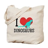 Dinosaurs Canvas Totes