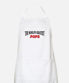 """The World's Greatest Pops"" BBQ Apron"