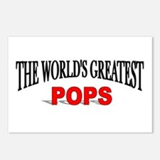 """The World's Greatest Pops"" Postcards (Package of"