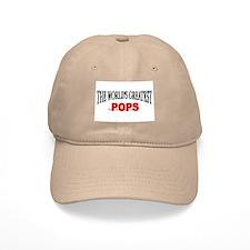 """""""The World's Greatest Pops"""" Baseball Cap"""
