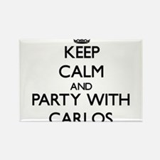 Keep Calm and Party with Carlos Magnets