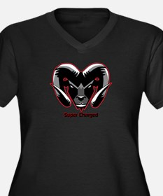 Super Charged Ram Style Mousepad Plus Size T-Shirt