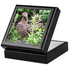 Spruce Grouse Keepsake Box