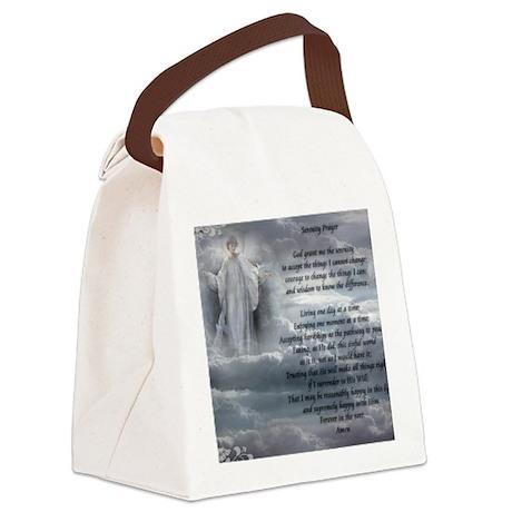 serenity_prayer Canvas Lunch Bag
