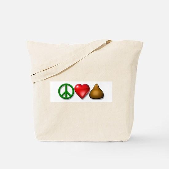 P, L, & C icons Tote Bag