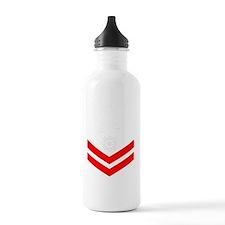 USCG-Rank-MK2-PNG Water Bottle