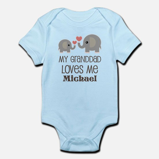 Granddad Loves Me Personalized Body Suit