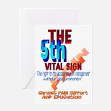 The 5th Vital Sign Trans Greeting Card