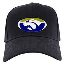 Cute Bulldogs rugby Baseball Hat
