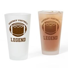 fantasyfootball Drinking Glass
