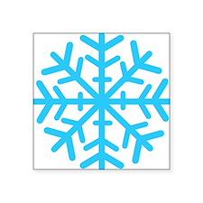 """snowflake2 Square Sticker 3"""" x 3"""""""