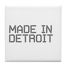 MADE IN DETROIT Tile Coaster