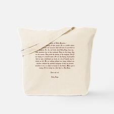 Lady Gaga Manifesto Tote Bag