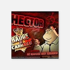 "HECTORMouseMat Square Sticker 3"" x 3"""