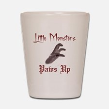 Lady Gaga/Little Monsters shirt front4 Shot Glass