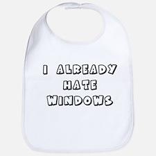 I Already Hate Windows Kids G Bib
