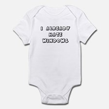 I Already Hate Windows Kids G Infant Bodysuit