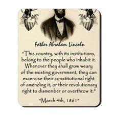 Liberty And Union Mousepad