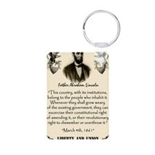 Liberty And Union Keychains