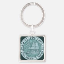 keel-hauling-CRD Square Keychain