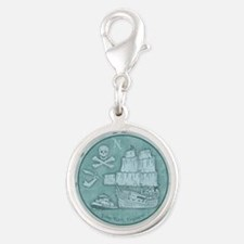 keel-hauling-CRD Silver Round Charm