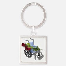 RoadRecovery073110 Square Keychain