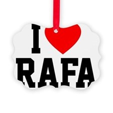 Heart Rafa Ornament