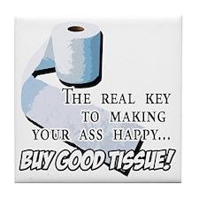 2-Buy Good Tissue Tile Coaster