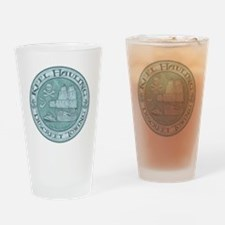 keel-hauling-T Drinking Glass