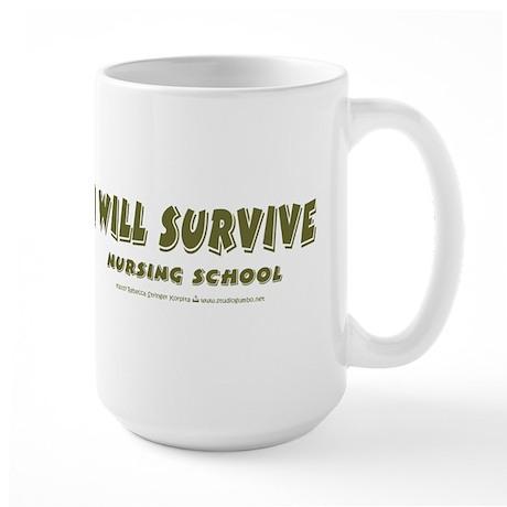 I Will Survive Large Mug