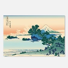 Hokusai Shichiri beach in Postcards (Package of 8)