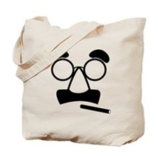 Marx Moustache Tote Bag