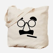 Marx Moustache Tote Bag