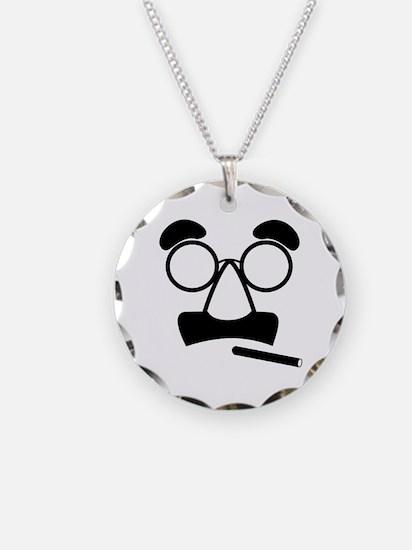 Marx Moustache Necklace