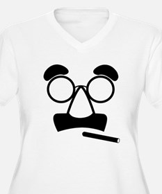 Marx Moustache Plus Size T-Shirt