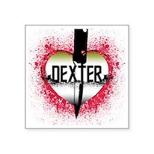 """4-lovedexter Square Sticker 3"""" x 3"""""""