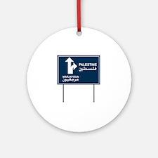 Palestine Marjayoun Ornament (Round)
