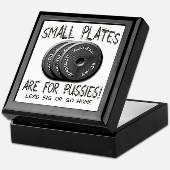 Small plates png Keepsake Box