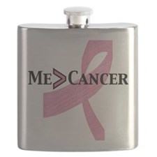 me greater than cancer Flask